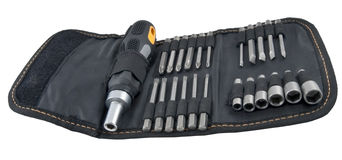 Kit of tools for repair of technique Stock Photos