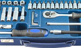 Kit of tools Stock Photography