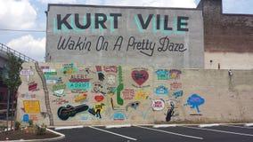 Kit Vile-muurschildering Royalty-vrije Stock Foto's