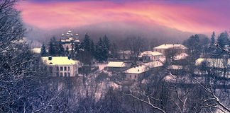 Kitaevskaya abandona el pustin de Kita?vska Foto de archivo libre de regalías