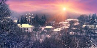 Kitaevskaya abandona el pustin de Kita?vska Fotos de archivo libres de regalías
