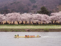 Kitakami, Iwate Prefecture,  Japan Royalty Free Stock Photography