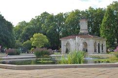 Italian Gardens, Kensington Gardens Stock Images