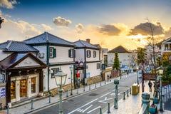 Kitano, Кобе, городской пейзаж Японии Стоковые Фотографии RF
