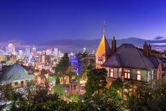 Район Kitano Кобе, Японии Стоковые Фото