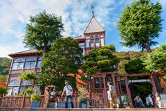 Kitano District in Kobe Royalty Free Stock Photos