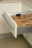 Kitchen  drawer Royalty Free Stock Image