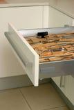 Kitchen  drawer Royalty Free Stock Image