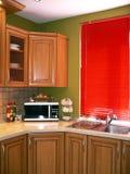 Kitchen. Cabinets Stock Photo