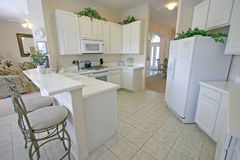 Kitchen. A Kitchen in a House in Florida Stock Photos