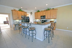 Kitchen. A Kitchen in a House in Florida Stock Photography