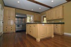 Kitchen. Interior desing in a home Stock Photos