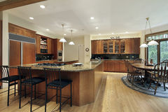 Kitchen with Royalty Free Stock Photo