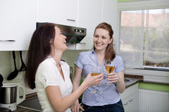 In the kitchen Stock Image