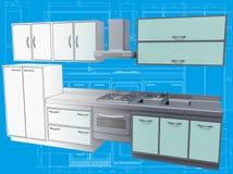 Kitchen. Royalty Free Stock Photos