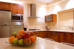 Kitchen. Furniture set feng shu interior design stock photo