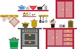 Kitchen Royalty Free Stock Photo