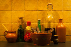 In the kitchen Royalty Free Stock Photos