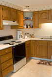 Kitchen. In a modern home Royalty Free Stock Photos