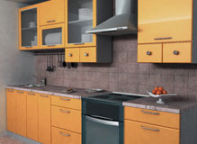 Kitchen. Background picture of a kitchen Royalty Free Illustration