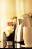 Kitchen. Equipment, cup of tea Stock Image