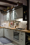 Kitchen. Old kitchen in new edition Royalty Free Stock Photography