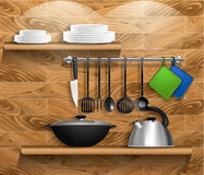 Kitchen3 Imagens de Stock Royalty Free