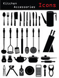 Kitchen Accessories royalty free illustration