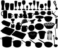 Kitchen accessories Stock Images