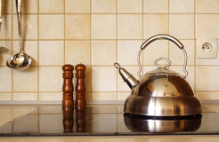 Kitchen accessories royalty free stock photo