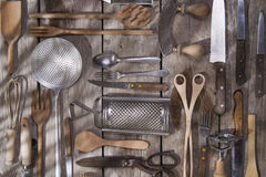 Kitchen accessories Stock Image