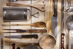 Kitchen accessories Stock Photos
