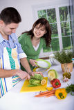 Kitchen activities Stock Photo