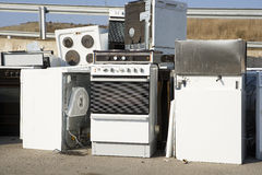 Kitchen Appliance Garbage Royalty Free Stock Images
