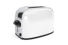 Kitchen Appliance. Vintage WhiteToaster Royalty Free Stock Photography