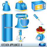 Kitchen appliances Royalty Free Stock Photos