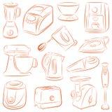 Kitchen appliances Stock Photos