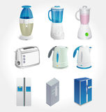 Kitchen Appliances  Stock Image