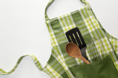 Free Kitchen Apron Stock Photography - 46159072