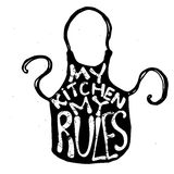 Kitchen apron Stock Photos