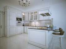 Kitchen art deco style Royalty Free Stock Photography