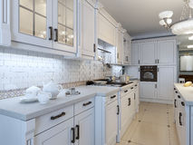 Kitchen art deco trend Royalty Free Stock Images
