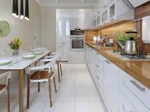 Kitchen, avant-garde style Stock Photo