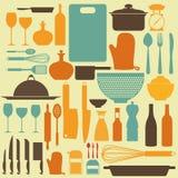 Kitchen Background Stock Photo