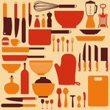 Kitchen Background Stock Photography