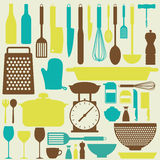 Kitchen Background Stock Photos