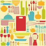 Kitchen Background Stock Images