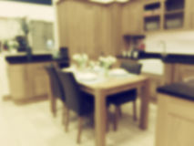 Kitchen Background Blur Royalty Free Stock Images