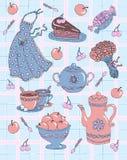 Kitchen background Stock Photography