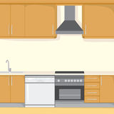 Kitchen Background Royalty Free Stock Photography